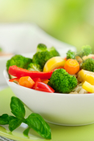 Fresh mixed vegetables